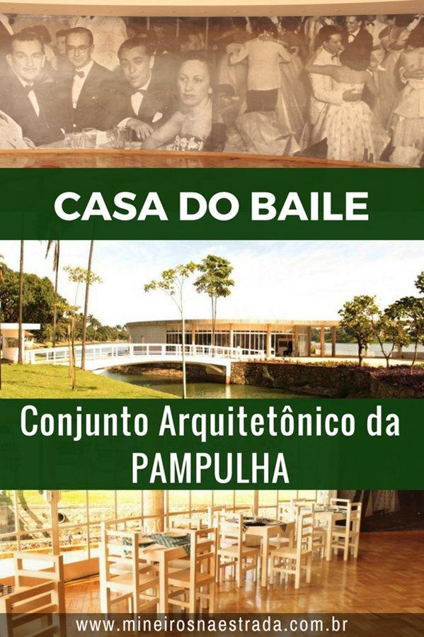 Casa do Baile, projetada por Oscar Niemeyer, é um dos componentes do Conjunto Arquitetônico da Pampulha.