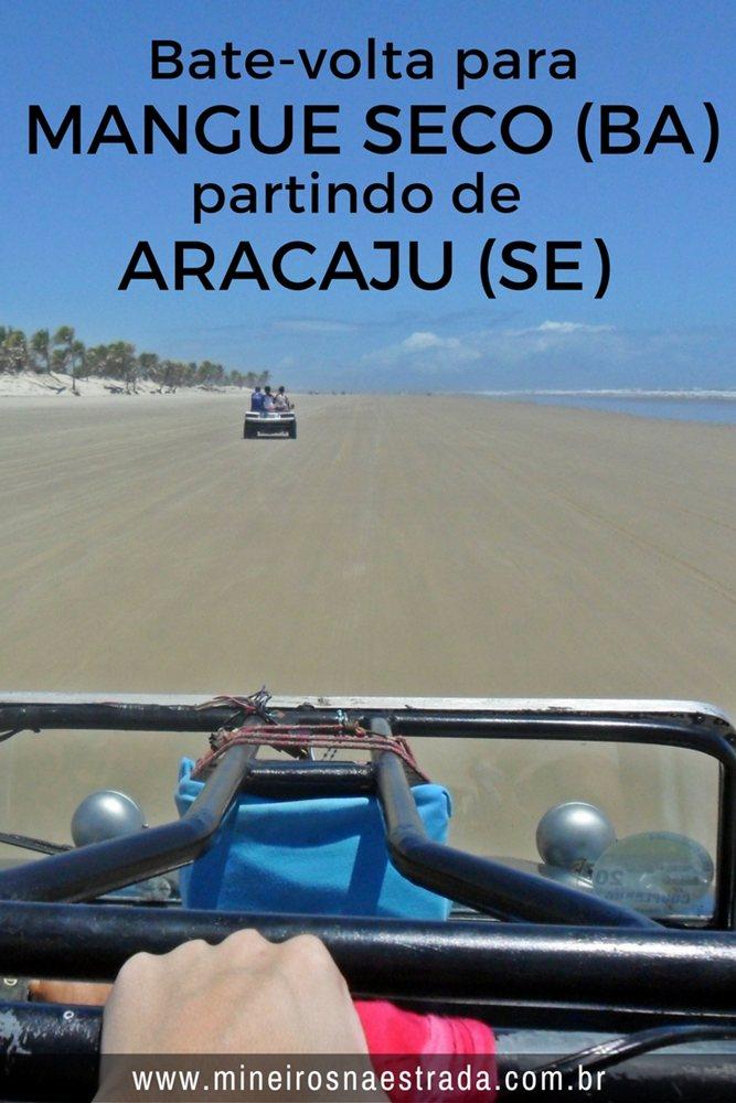 Bate-volta para Mangue Seco, última praia do litoral norte da Bahia, partindo de Aracaju. Um passeio lindo partindo da capital sergipana até a última praia ao norte da Bahia. Tem passeio de bugue por entre as dunas!