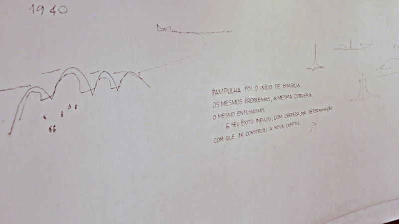 Casa do Baile, projeto de Oscar Niemeyer, parte do Conjunto Arquitetônico da Pampulha