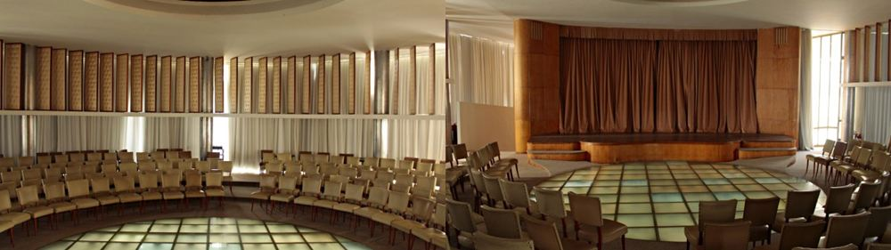 Museu de Arte da Pampulha, parte do Conjunto Arquitetônico da Pampulha, projetado por Oscar Niemeyer e patrimônio da Unesco.