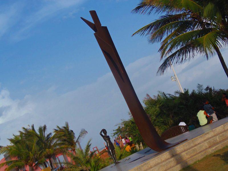 orla da praia de Atalaia, em Aracaju