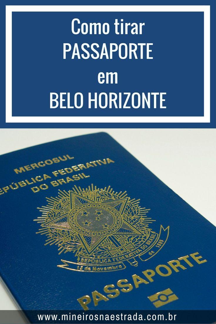 Falamos um pouco sobre a parte burocrática para tirar o passaporte e como fazer isso em Belo Horizonte.