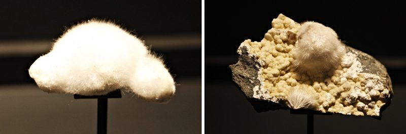 Okenita, a pedra peluda