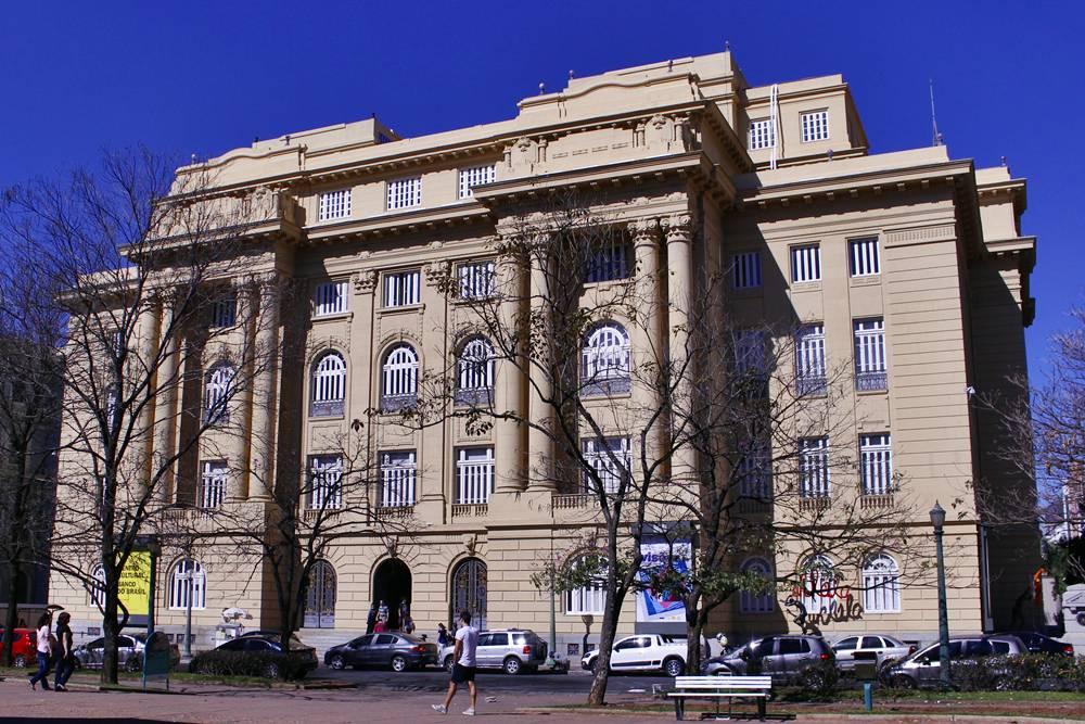 CCBB - Centro Cultural Banco do Brasil, um dos componentes do Circuito Cultural da Praça da Liberdade, em Belo Horizonte.