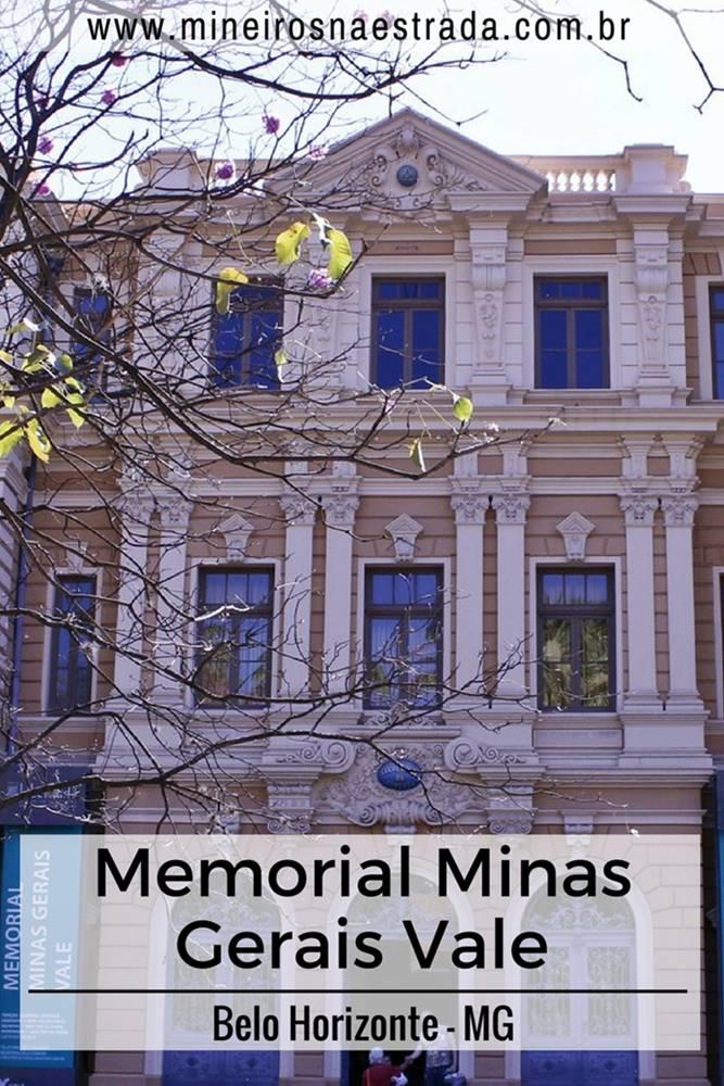 Memorial Minas Gerais Vale, um dos componentes do Circuito Cultural da Praça da Liberdade, em Belo Horizonte.