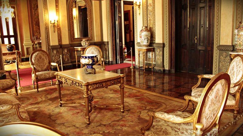 Uma das salas do Palácio da Liberdade, em Belo Horizonte.
