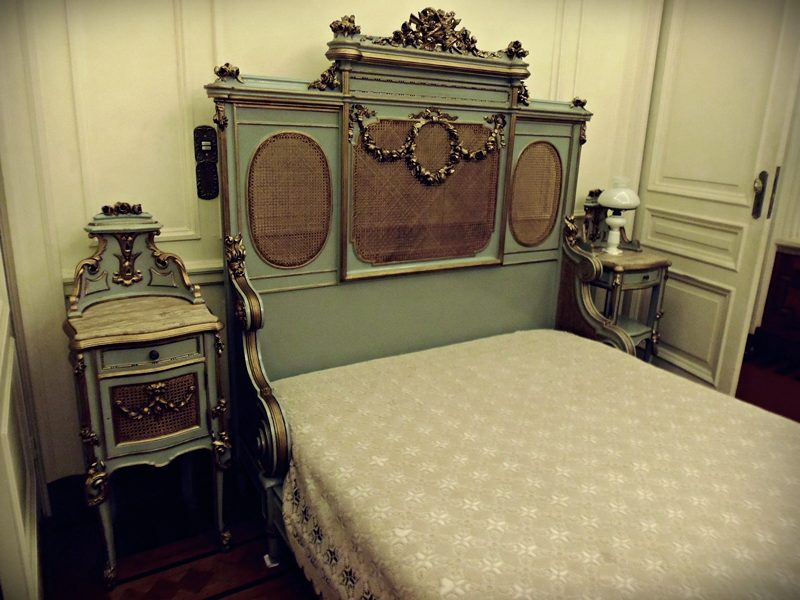 Antigo quarto do governador, no Palácio da Liberdade, em Minas Gerais.