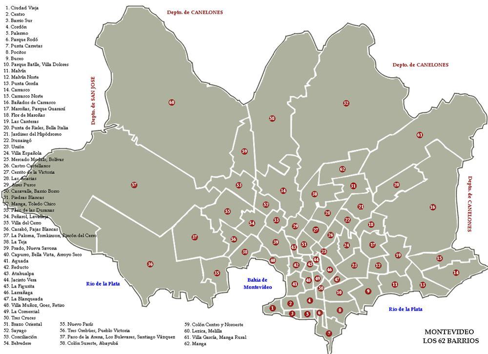 bairros de montevideu