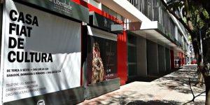 Conheça a Casa Fiat de Cultura, na Praça da Liberdade