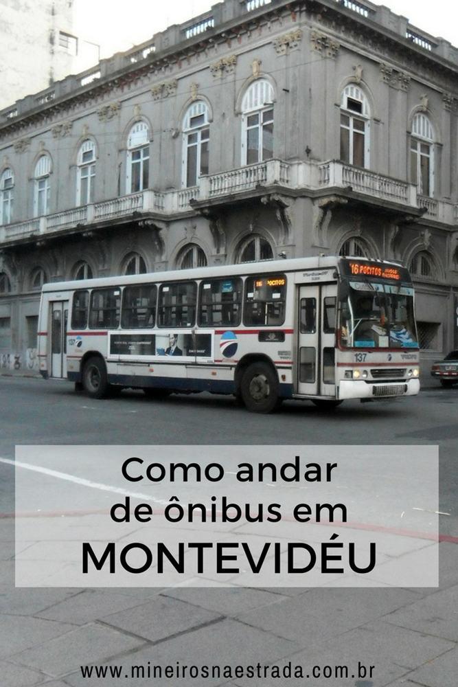 Veja como é fácil andar de ônibus em Montevidéu e aprenda a usar o aplicativo da Prefeitura para se locomover pela cidade.