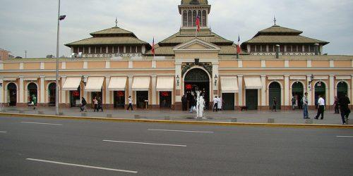 Mercado Central de Santiago, onde sua sensibilidade olfativa é posta à prova