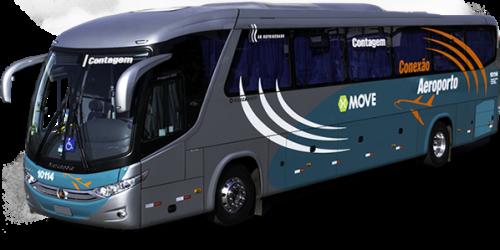 Contagem ganha linha de ônibus para o Aeroporto de Confins