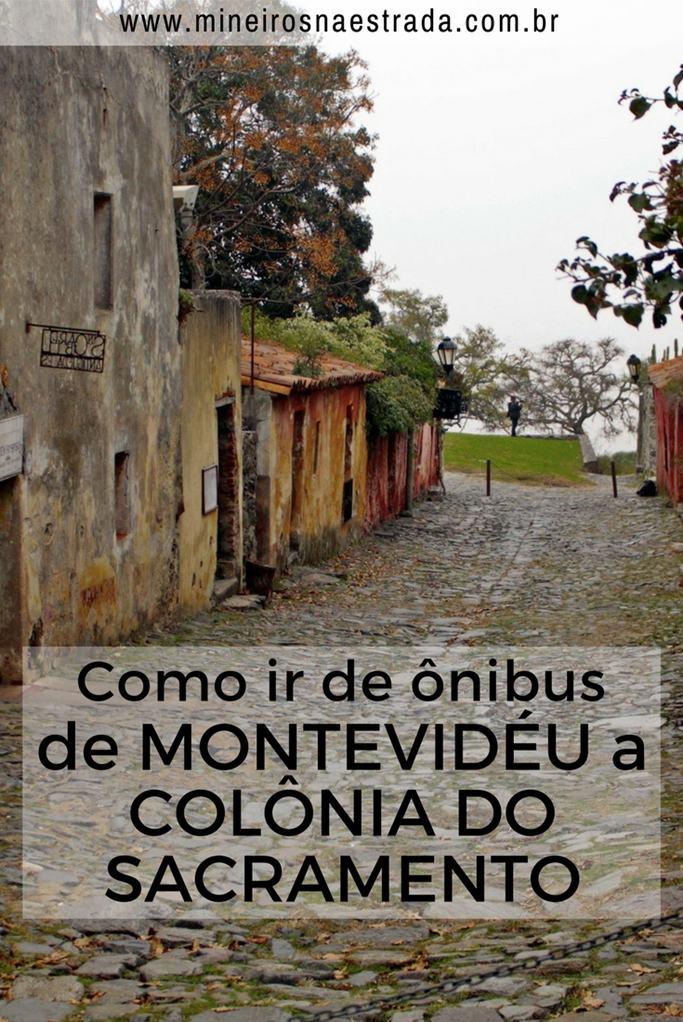 Veja como é simples ir de ônibus de Montevidéu até Colônia do Sacramento, no Uruguai. De lá você pode seguir viagem até Buenos Aires.
