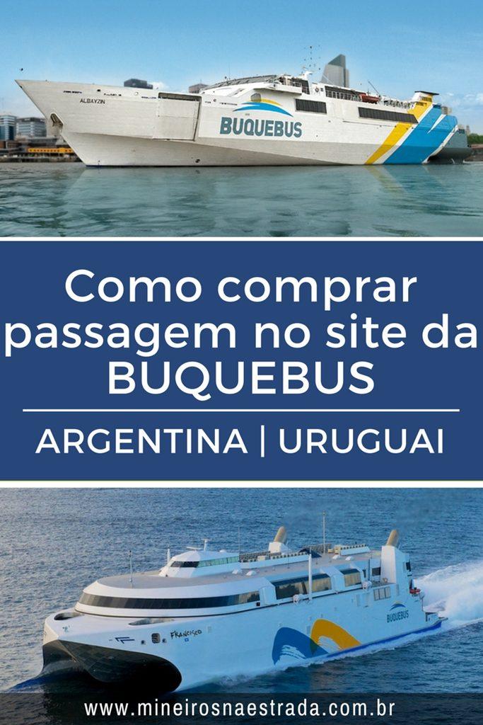 Passo a passo para comprar passagem no site da Buquebus, o barco que vai de Colonia del Sacramento a Buenos Aires.
