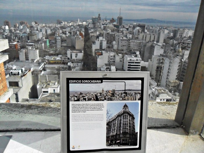Mirador panorámico de Montevidéu