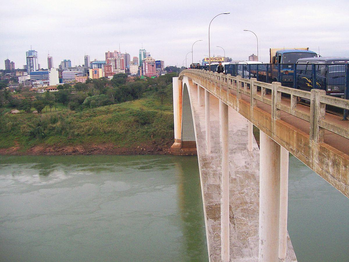 ciudad del este ponte da amizade