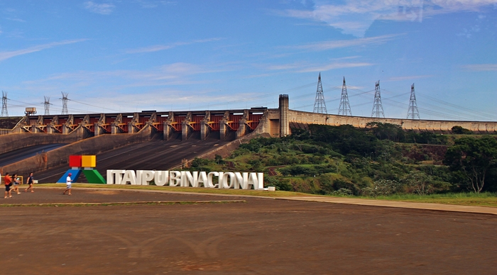 Mirante do Vertedouro, visto durante o Circuito Especial, em Itaipu Binacional.