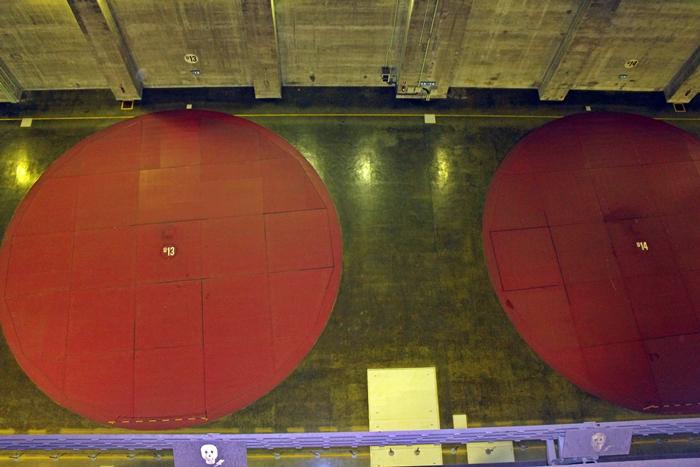 Interior de Itaipu Binacional, visto durante o Circuito Especial.
