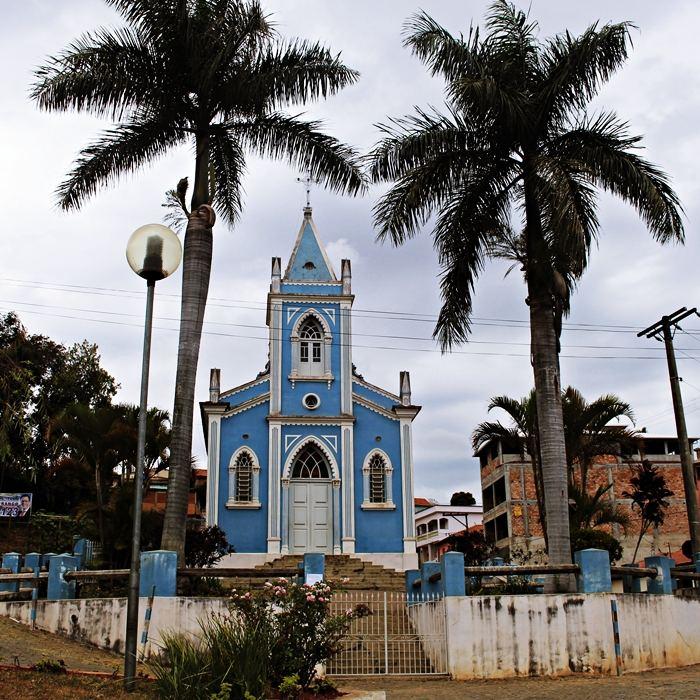 Igreja do Rosário - Lagoa Dourada