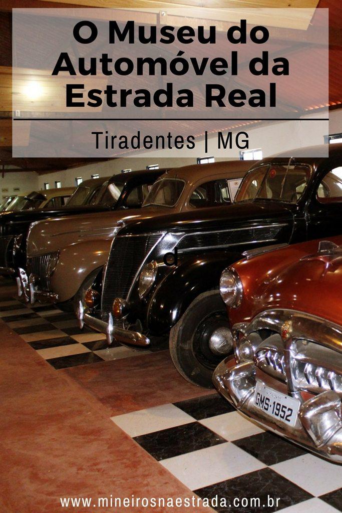 O Museu do Automóvel da Estrada Real fica na estrada entre Tiradentes e Bichinho e conta com dezenas de carros antigos muito bem preservados.