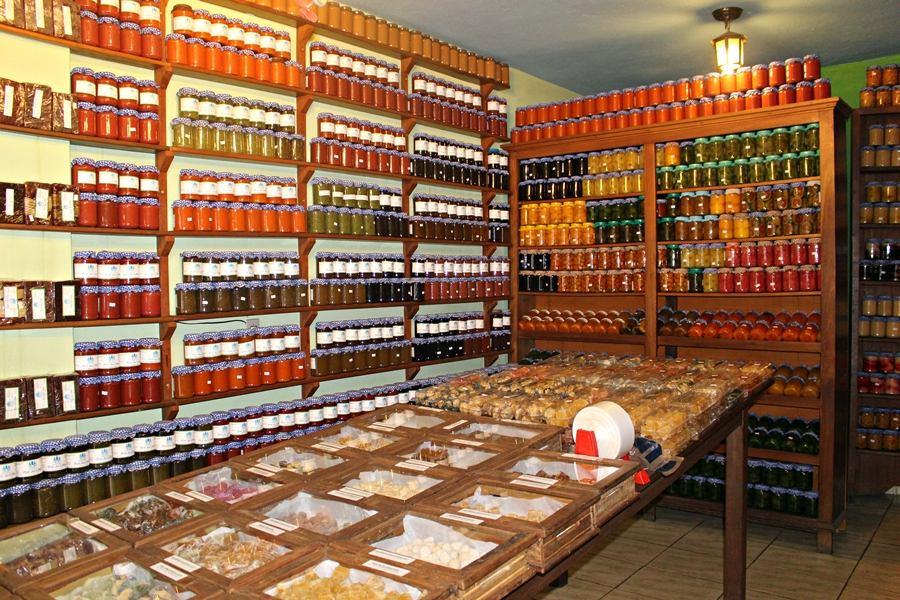 Lojas de doces em tiradentes