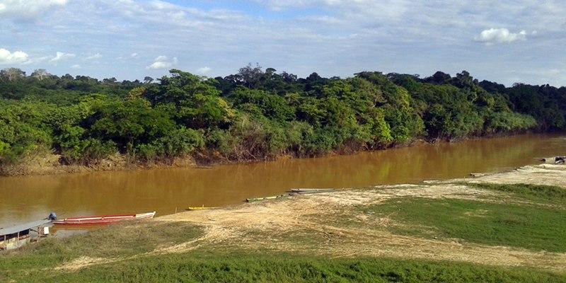 Rio Abunã - do lado de lá é Bolívia
