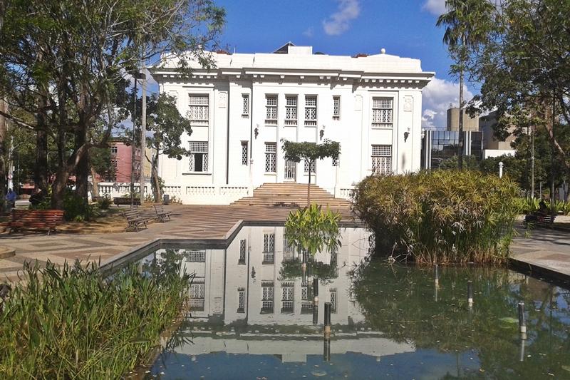 Fachada posterior do Palácio Rio Branco
