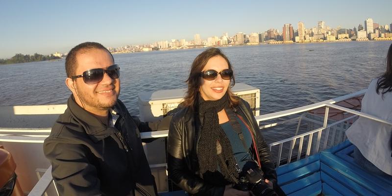 lago guaiba passeio de barco