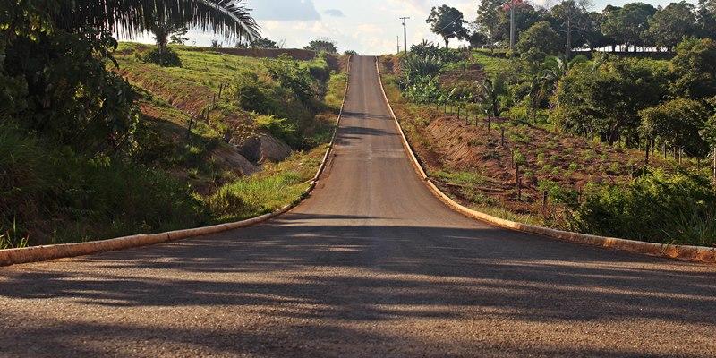 Ramal, que é como chamam as estradas que cortam a zona rural