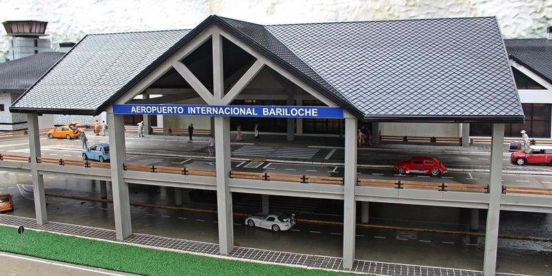 aeroporto de bariloche mini mundo