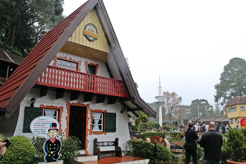 A casa de bonecas da neta do Otto Höppner