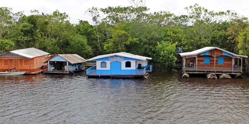 vilarejo flutuante