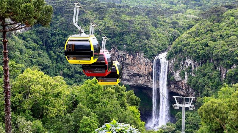Foto retirada do site oficial do Parques da Serra
