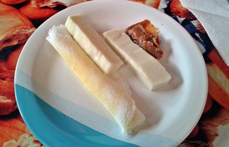 queijo e doce de leite