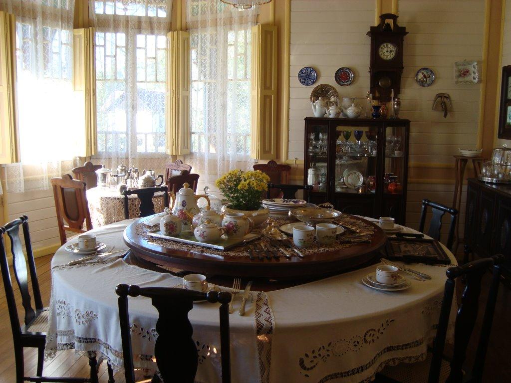 castelinho caracol - sala de jantar