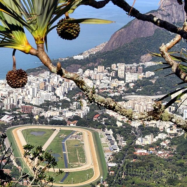 9ª mais curtida: Vista do Corcovado, no Rio de Janeiro