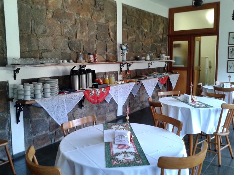 café da manhã pousada il villaggio