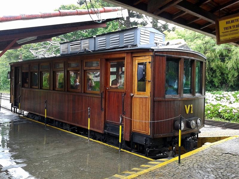 trem de campos do Jordao