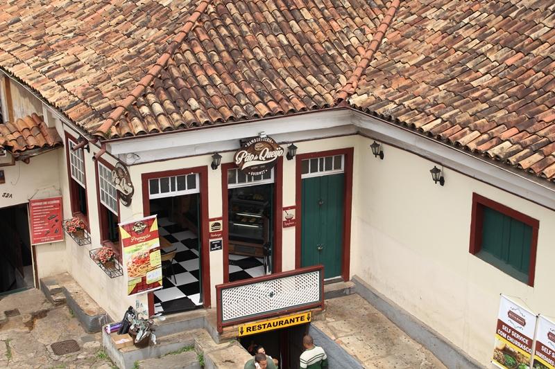 Hamburgueria Pão de Queijo, em Ouro Preto.