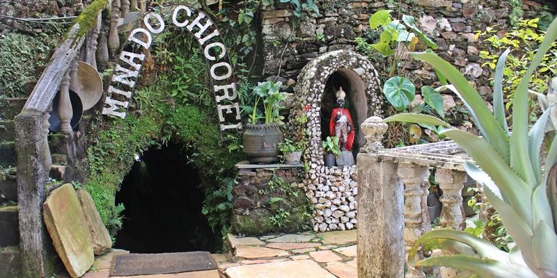 Mina do Chico Rei, em Ouro Preto.