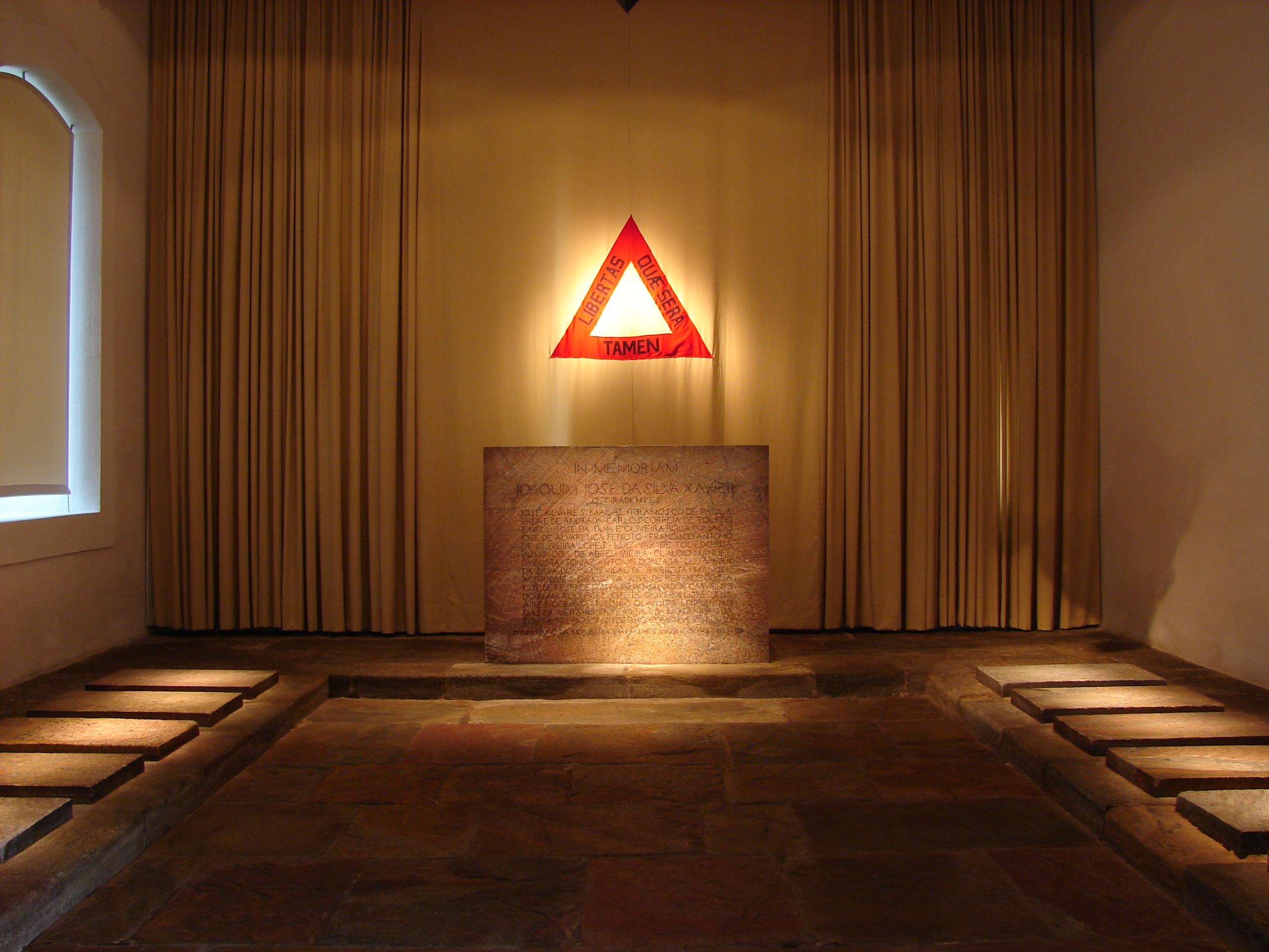 Panteão da Inconfidência. Foto: Divulgação