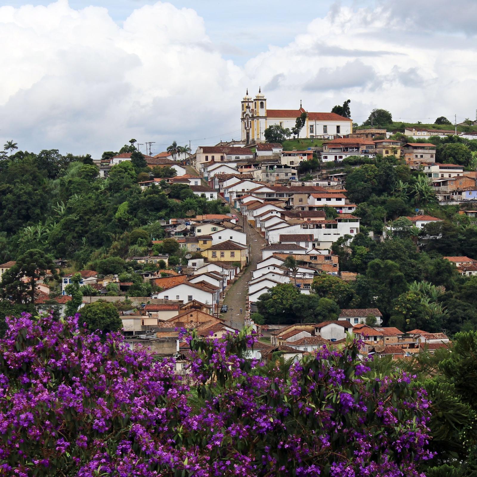 Igreja de Santa Efigênia, em Ouro Preto, Minas Gerais.