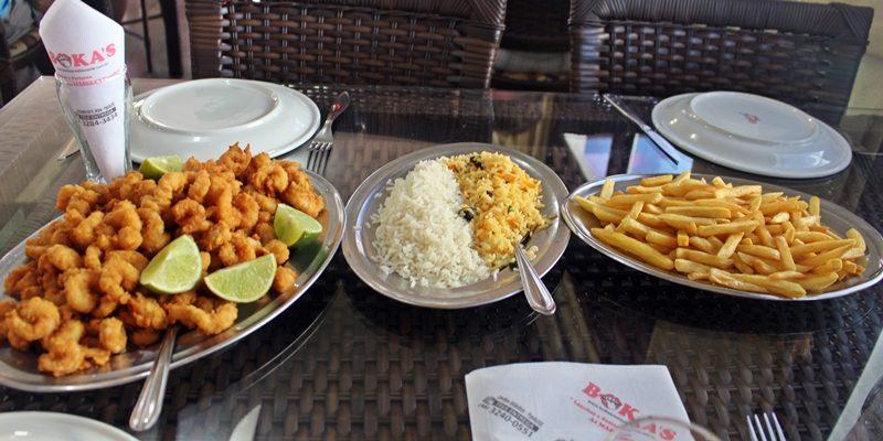 Boka's, porções gigantes em Florianópolis