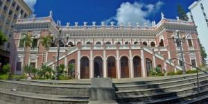Visita ao Palácio Cruz e Sousa, em Florianópolis