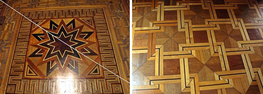 pisos do palacio