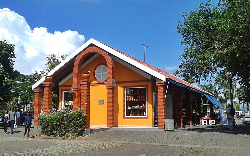 Gerência Regional do Patrimônio da União, no Largo da Alfândega, Centro Histórico de Florianópolis