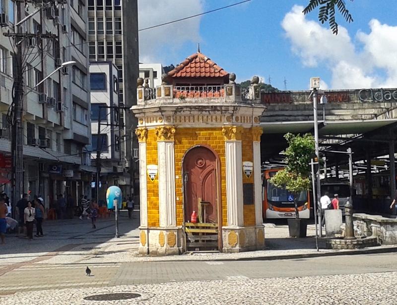 Museu do Saneamento, no Centro Histórico de Florianópolis.