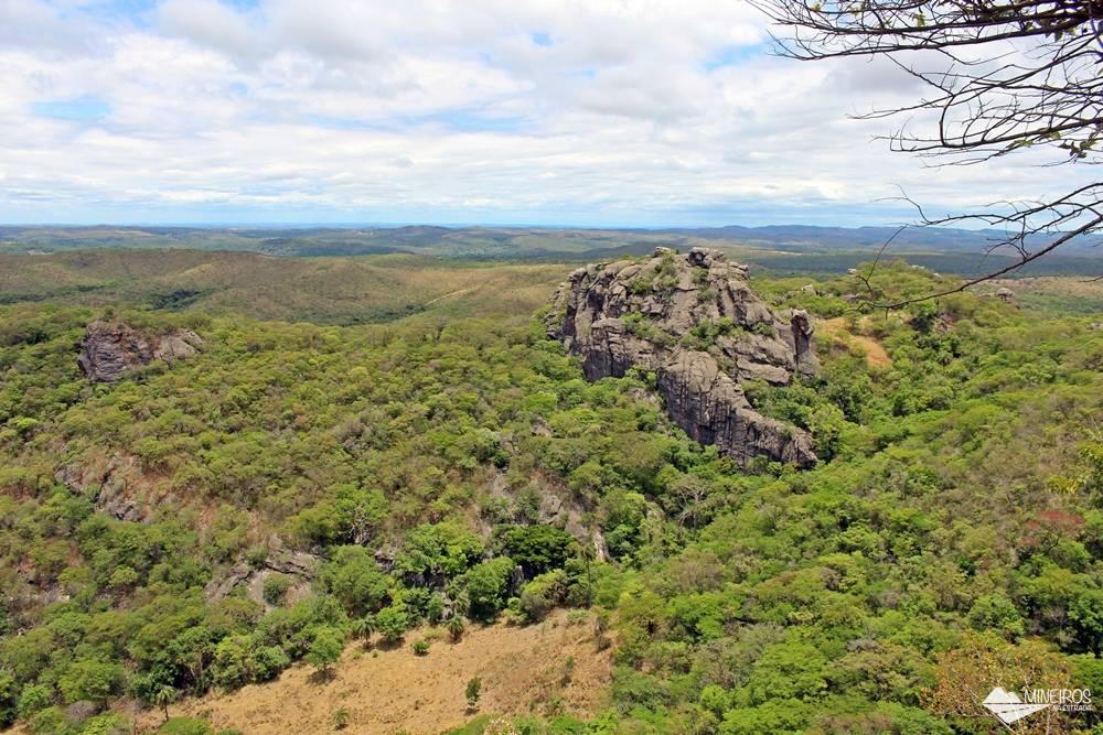 Um dos mirantes da Serra do Cipó, distrito de Santana do Riacho, na Região Metropolitana de Belo Horizonte.