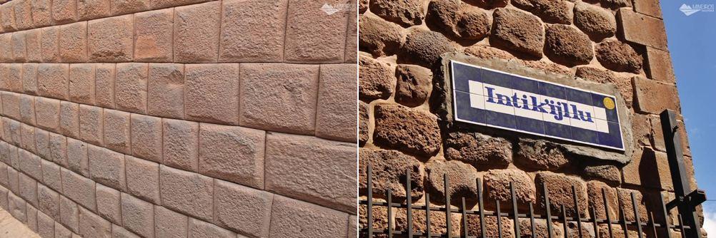 Muro inca e muro colonial em Cusco Peru