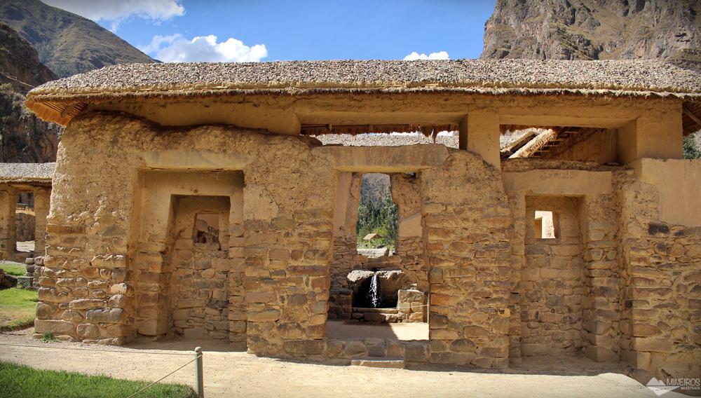 templo da agua ollantaytambo vale sagrado cusco